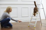 21 Days to the perfect cat - Kim clicker training cat to climb ladder